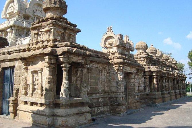 Full-Day Private Kanchipuram and Mahablipuram Tour from Chennai