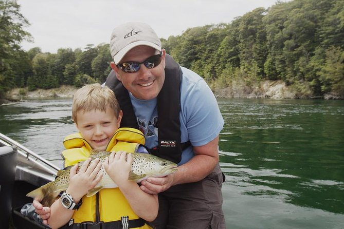Half-Day Jet Boat Fishing in Fiordland