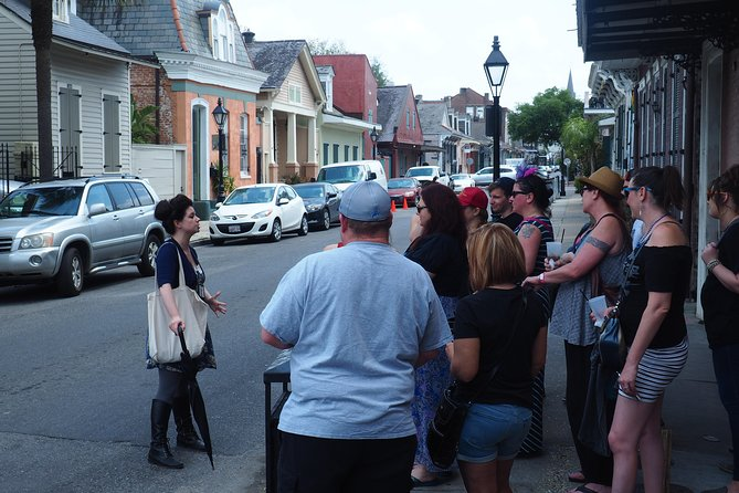 Shared 2 Hours Saints and Sinners Walking Tour in New Orleans