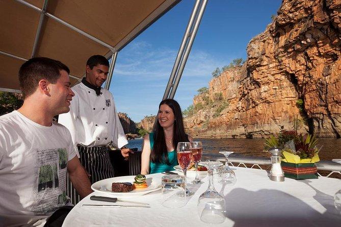 Nitmiluk (Katherine) Gorge 3.5-Hour Sunset Dinner Boat Tour
