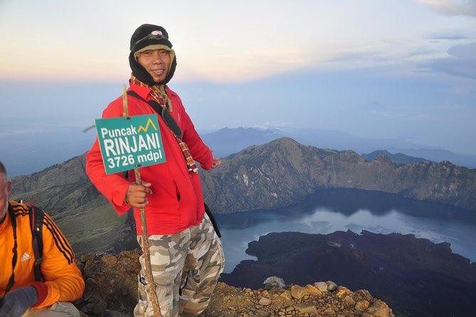 Excursión de 3 días al monte Rinjani desde Lombok