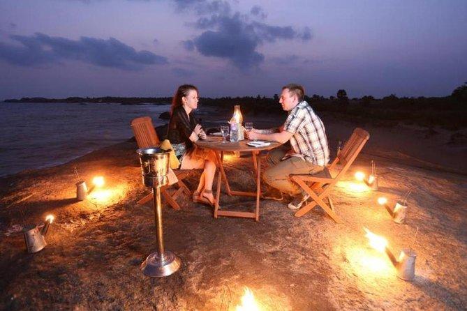 Camp de plage privé et safari Yala de Colombo