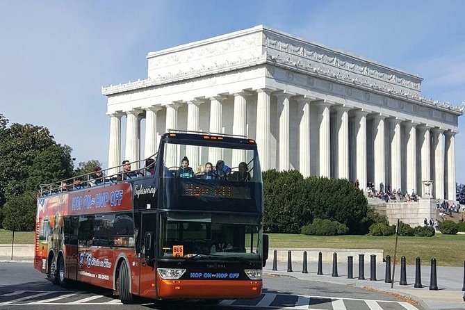 Washington DC Hop-On-hop-off plus nachttour met tweedaagse pas