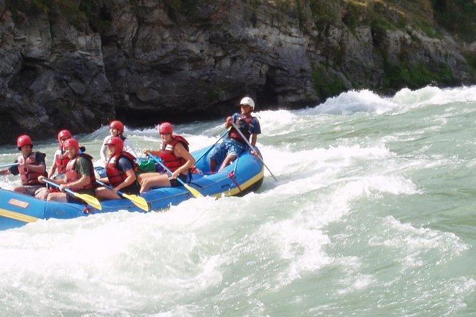 Wildwasser-Rafting auf Trisuli River von Kathmandu