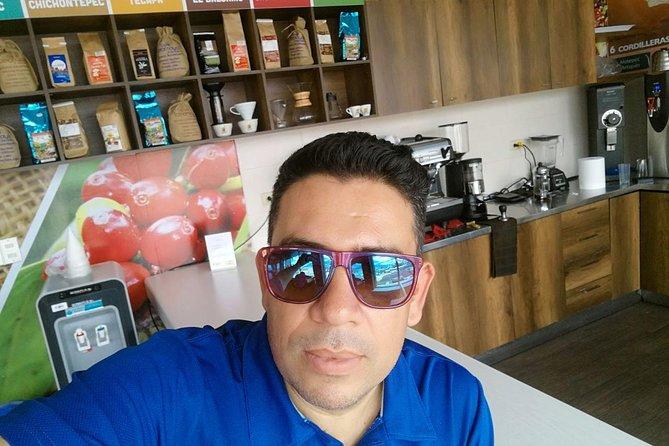 Coffee sampler at San Salvador