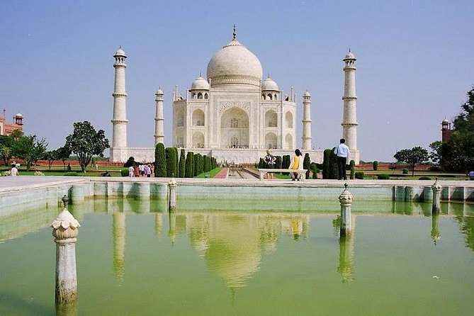 Day Trip to The Taj Mahal, Agra Fort and Mehtab Bagh from Delhi
