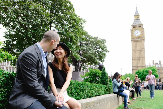 Styled Photoshoot på Big Ben och Westminster i London