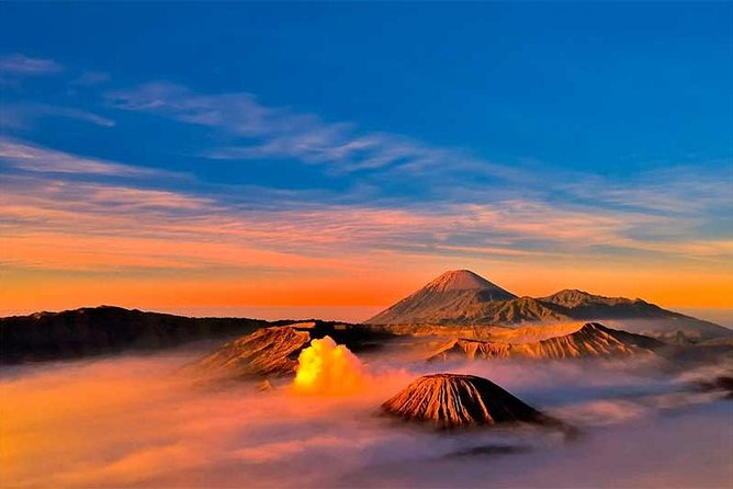 Overnight Mount Bromo Sunrise Tour from Surabaya