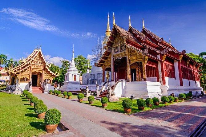 Excursão de meio dia por Chiang Mai e templos incluindo Doi Suthep