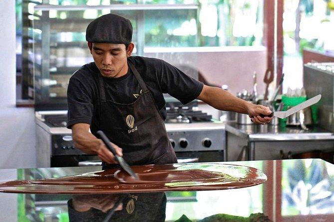 Recorriendo la fábrica de chocolate POD de Bali