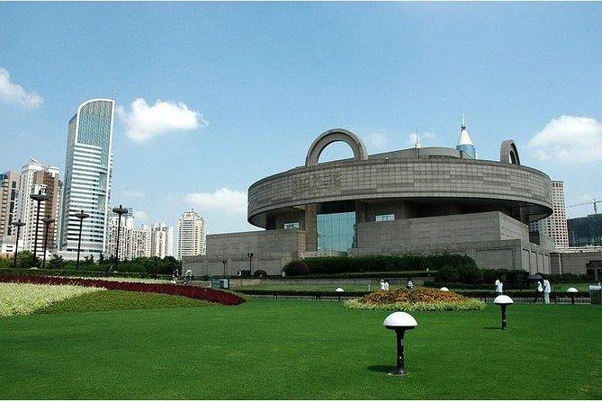 4-timmars privat tur: Shanghai Museum, Shanghai Urban Planning Exhibition Centre