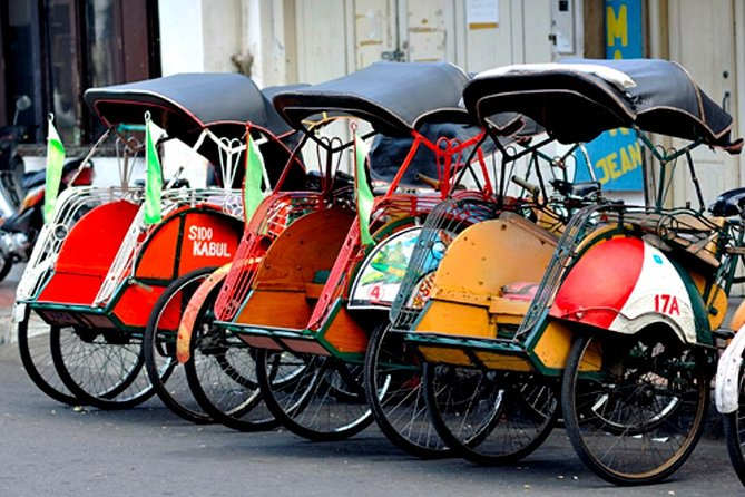Touring Kota Gede by Becak