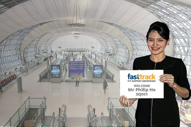 Arrival Fast Track Airport Services Including Buggy