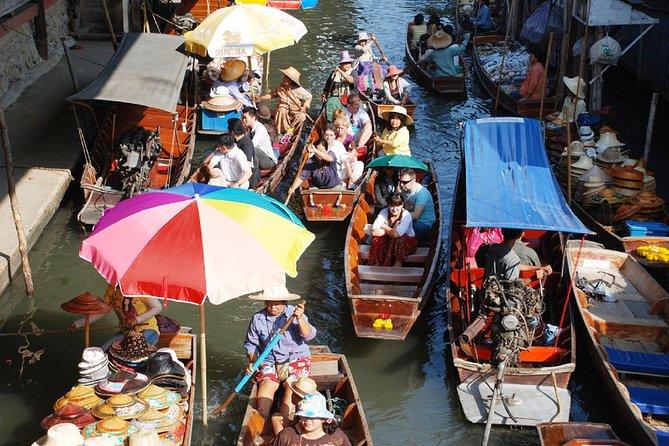Damnoen Saduak Floating Market and Phetchaburi Day Tour