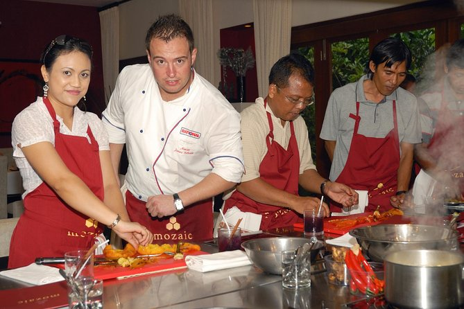 Full Day Cooking Class på Mozaic Restaurant i Specialty Classes
