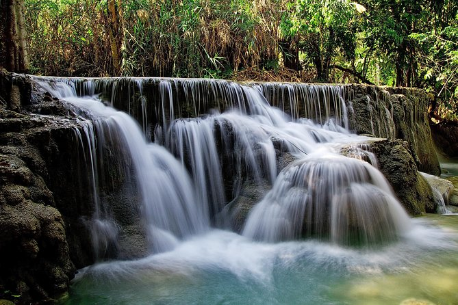 Kuang Si Waterfalls by Bike and Boat