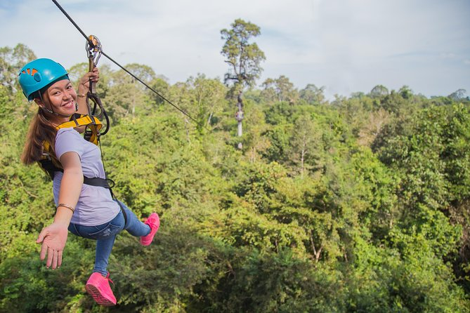 Full Day Siem Reap Adventure Biking and Zip Lining