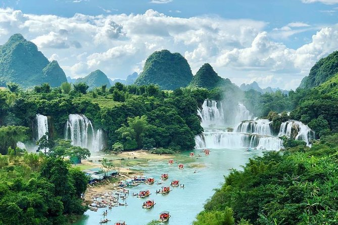 3-day Ban Gioc Waterfall and Ba Be Lake with round trip from Hanoi