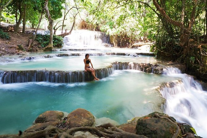 Day Trek to Kuangsi Waterfall and Bear Sanctuary - Luang Prabang full day tour