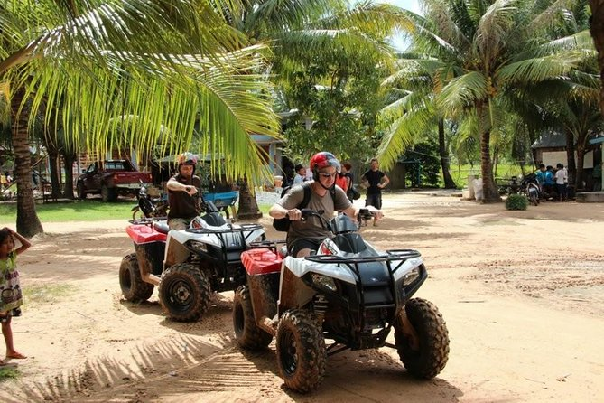 Great fun to visit countryside in Siem Reap by Quad Bike Adventures - Half day