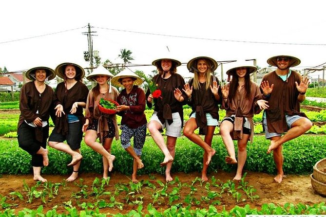 Bicycle experience countryside & cooking class in Hoi An & free foot massage