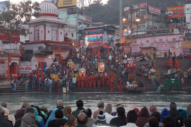 Private Tour: Haridwar Sightseeing Day Tour and Ganges River Puja Ceremony