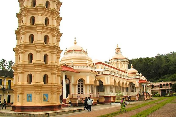 Shri Manguesh Temple, Bom Jesus, Lunch with Goa Port Pickup | India
