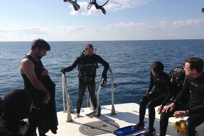 Wreck and Bridge Span Dive Charter for Certified Divers