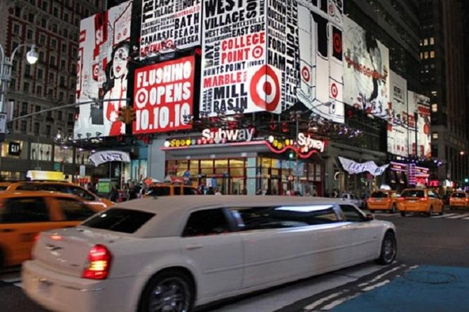 New York City Private Limousine Tour