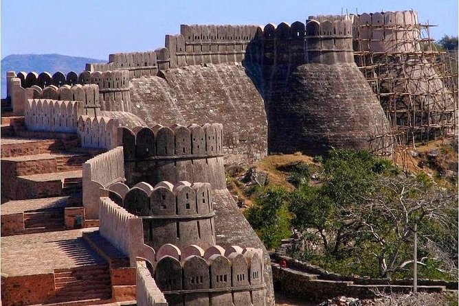 プライベートツアー:Kumbhalgarh Fort Day Trip from Udaipur