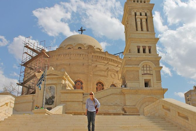 Private Tour of Coptic Cairo Including Saint Simon Church in Moqqatam