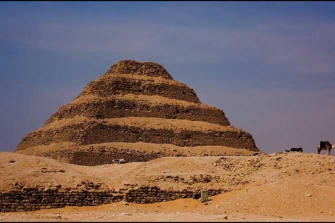 Day Trip to Giza and Saqqara Pyramids from Sharm El-Sheikh