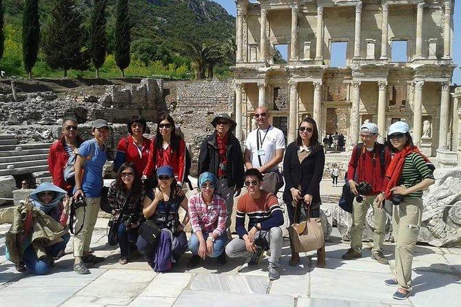 Tour de Best of Ephesus en grupos pequeños desde el puerto de Kusadasi