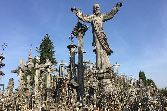 Route of John Paul II: Hill of Crosses, Tytuvenai, Shrine of our Lady of Siluva