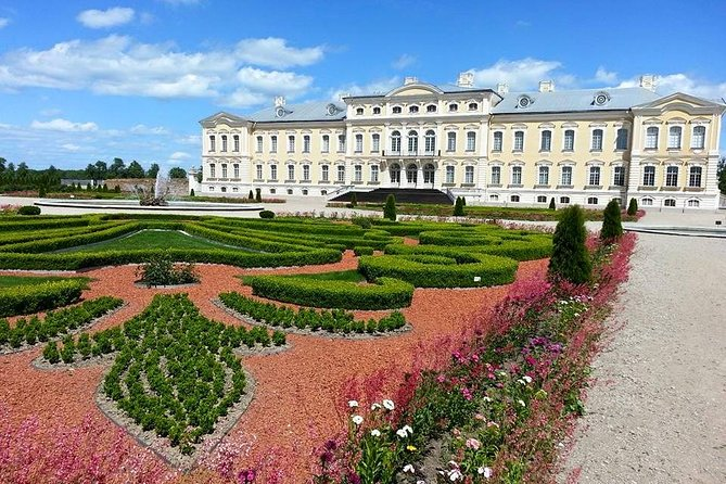 Fulldags tur til kullens bakke og Rundale-palasset i Latvia fra Vilnius