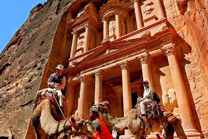Private Tour from Aqaba Eilat border : 3 Days 2 Nights to Petra - Wadi rum - A tour into a moonscape and a wonder of the sevens