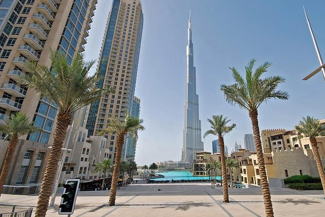 Dubai Tour Including Entrance to Burj Khalifa 124th Floor from Abu Dhabi