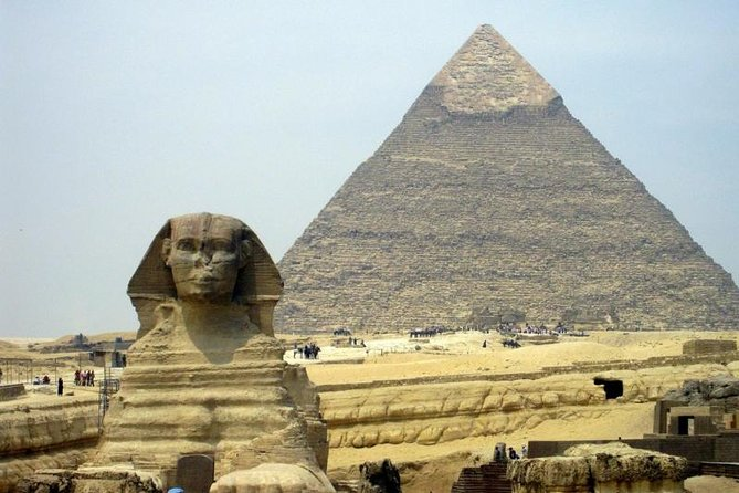 Private Tour To The Great Giza And Saqqra Pyramids with Private Tour Guide