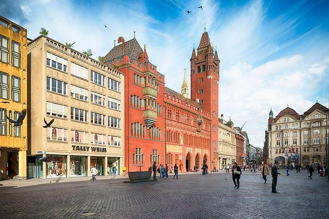 Basel City Center Private Tour