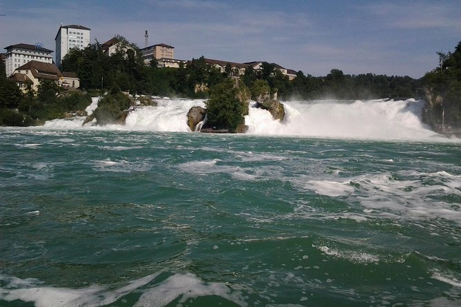 Rhine Falls Schaffhausen with Boat Tour to the Rock Private Tour from Luzern