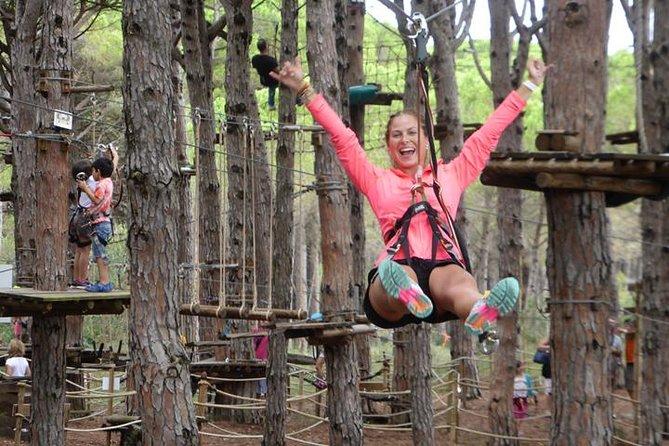 Costa Brava Adventure Park 5 routes ingang