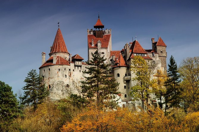 Bran (Dracula) Castle, Bear Sanctuary, Rasnov Fortress and Palinca Distillery