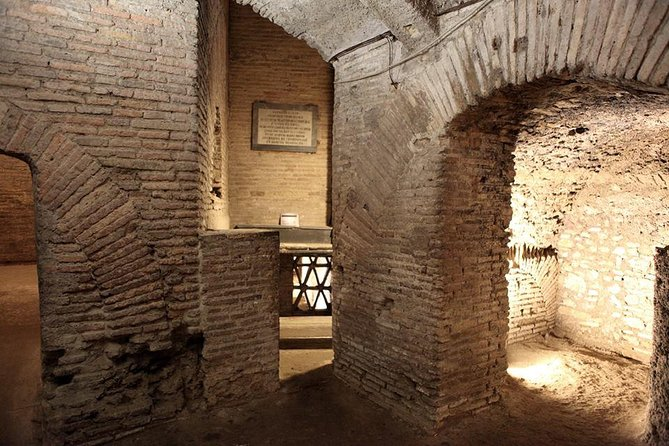 Underground Rome Private Tour:Roman Houses on the Celio and St. Clemente Scavi