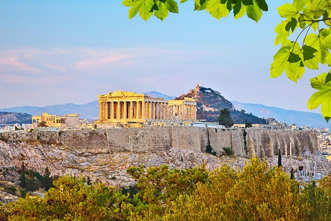 Acrópolis privada y visita al Museo de la Nueva Acrópolis con cena en la colina de Lycabettus