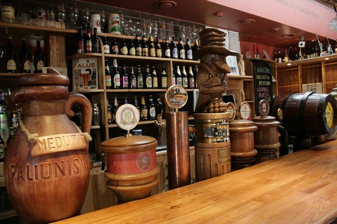 One of pubs - Alaus namai (House of beer)