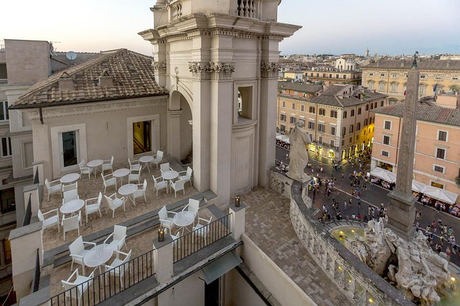 Open Air Opera Concert In Rome With Aperitivo Overlooking Navona Square