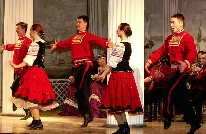 Russian National Folklore Show in Nikolayevsky Palace | St