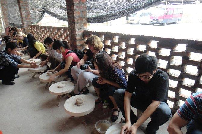 Bat Trang Ceramic Village and Van Phuc Silk Village Day Trip from Hanoi