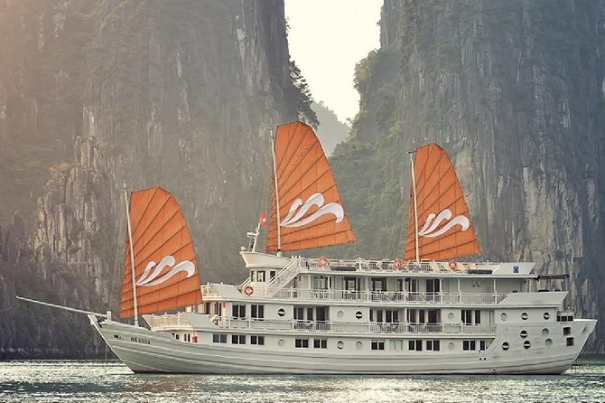 2-day Luxury Halong Bay cruise from Hanoi