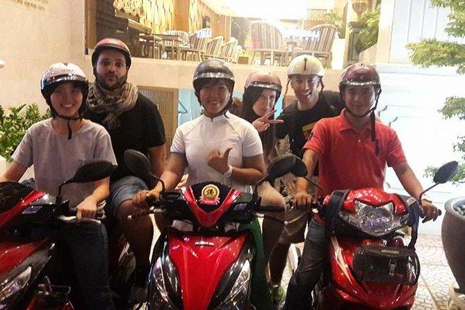 Hanoi City Street Food Night Tour by Motorscooter